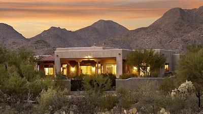 Casa Campana is set in Tucson's pristine Tortolita Mountains foothills