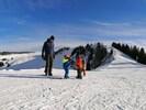 Kinderparadies auf der Bezauer Baumgartenhöhe im Winter und Sommer
