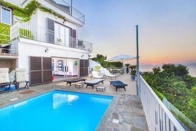 Casa-vista mare-mini-piscina