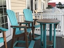Pub Height Adirondack Table & Chairs