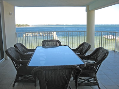 Sweeping Views await from our huge patio