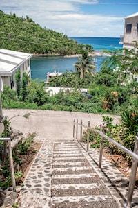 Entrance into Conch Villas