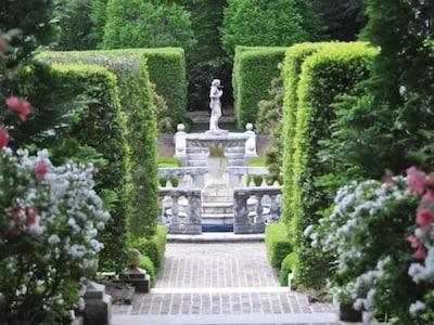 Elizabethan Garden on Roanoke Island