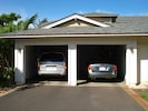 The 2-car garage provides convenient, secure parking at this Hawaii condo rental
