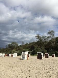 Der Strand am Schwarzen Busch in 10 min erreichbar.
