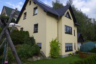 Ferienwohnung Erzgebirge,  Im Erdgeschoss befindet sich die Ferienwohnung