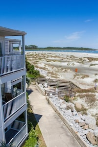 The 3rd floor unit offers unobstructed 180 degree views
