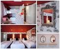 The Queen of Hearts bedroom with sea views (sleeps 5/6)