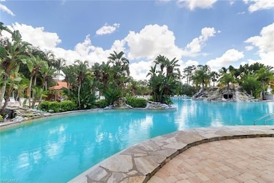 Largest salt water heated pool in SW Florida