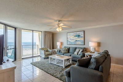 Completely renovated! Spacious, gulf front 3 Bedroom Condo in Orange Beach!