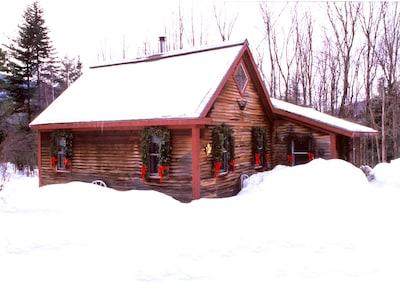 Romantic Vermont Ski Cabin