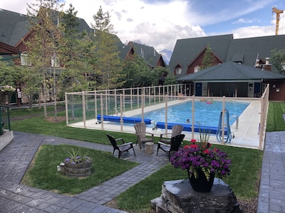 Courtyard and pool