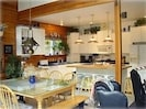 Kitchen/dining within Great Room