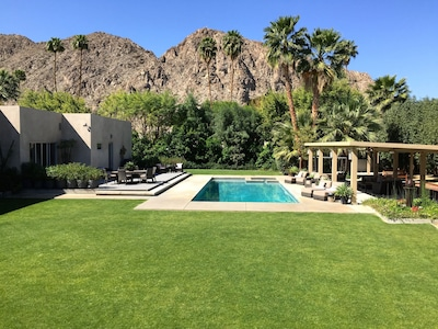 Beautifully landscaped with incredible mountain views.