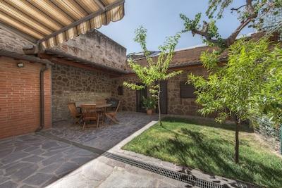 Bellosguardo/San Francesco di Paola con giardino privato