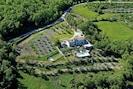 the wide private garden and park  around the villa