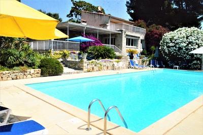 Villa côté piscine