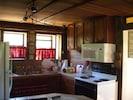 Gabriel's fully furnished kitchen