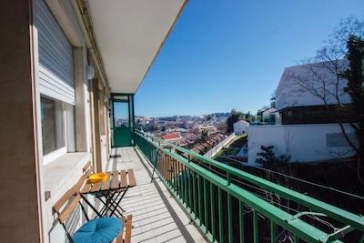 Central Sunny Duplex View