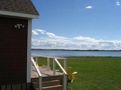 View from Deck of Red Cottage