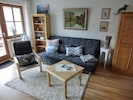 Ferienwohnung 4, im Erdgeschoss mit Seeblick, 1-2 Personen, 36qm-Wohnbereich Wohnung 4