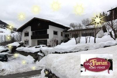 Ferienwohnungen Oberau (DE Berchtesgaden) - Fendt Sabine - 12082-Hausansicht Winter