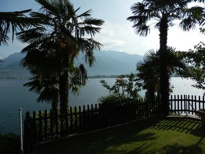 Traumhafter Ausblick auf den Lago Maggiore