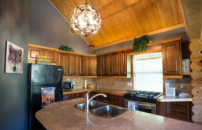 Full kitchen for a comfortable stay. See amenities for details