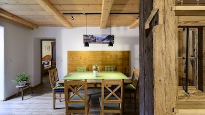Fewo (88 qm) -Kienberg- Balkon, Küche, 2 Schlaf- und 1 Wohn-/Schlafz., max 6 Pers.