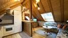 Ferienwohnung DG, 45 qm, 1 Schlafzimmer, max. 2 Personen