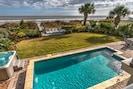 Heated pool, 6-person hot tub, gorgeous yard, patio dining & beach deck
