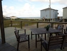 View from the newly extended deck with lots of space to enjoy!