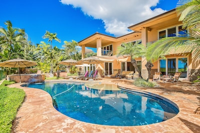 Pool and House with