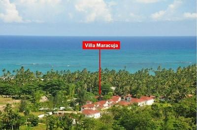 Villa Maracuja - panorama view