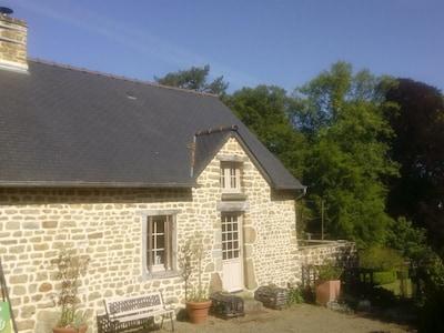 Biskoppens Have, Avranches, Manche, Frankrig