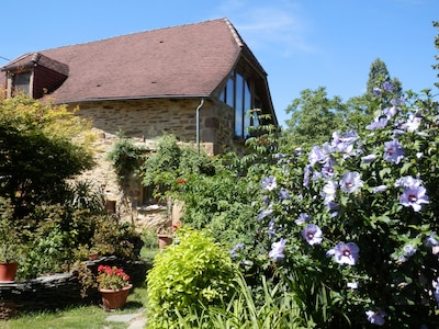 Stunning medieval renovated barn - space available is the whole of upstairs