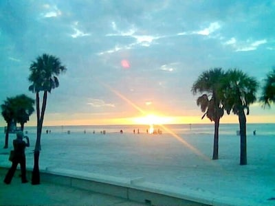 Sunset at Beach walk