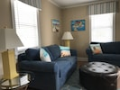 Living Area is identical in both cottages!