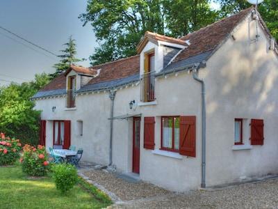 Château de Nitray (Weingut), Athée-sur-Cher, Département Indre-et-Loire, Frankreich