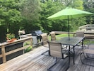 new backyard table