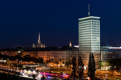 Skyflats Vienna Ring View Blick zum Stefansdom