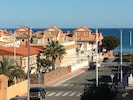 View from balcony. 150 metres to beautiful beaches and sea