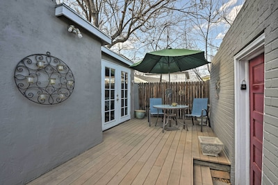 Explore the exciting city of Denver from this vacation rental studio!