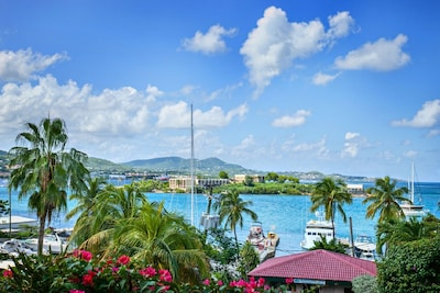 Heaven & Earth - Enjoy Heavenly Harbor &  Caribbean Ocean Views at Schooner Bay!