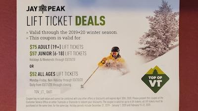 Discount Lift Ticket Deals