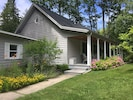 5 Bedrooms, 3 Bath, front porch, back deck. Good layout for multiple families