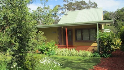 Blue Gum House relax in a peaceful environment.
