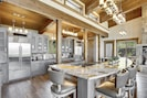 Professional Appliances and Granite Bar at Winter Park Vacation Home