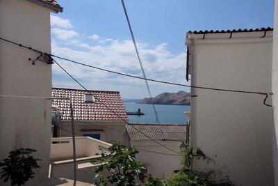 Baska Harbor, Baska, Primorje-Gorski Kotar, Croatia