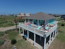 View of house from drone
